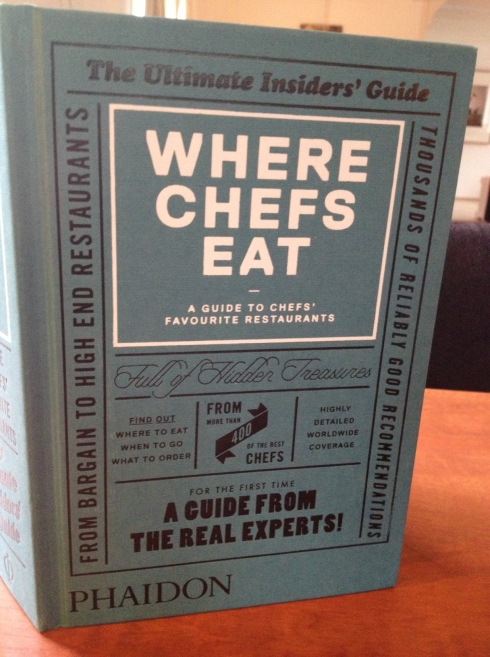foto where chefs eat