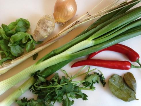 Currypasta maken