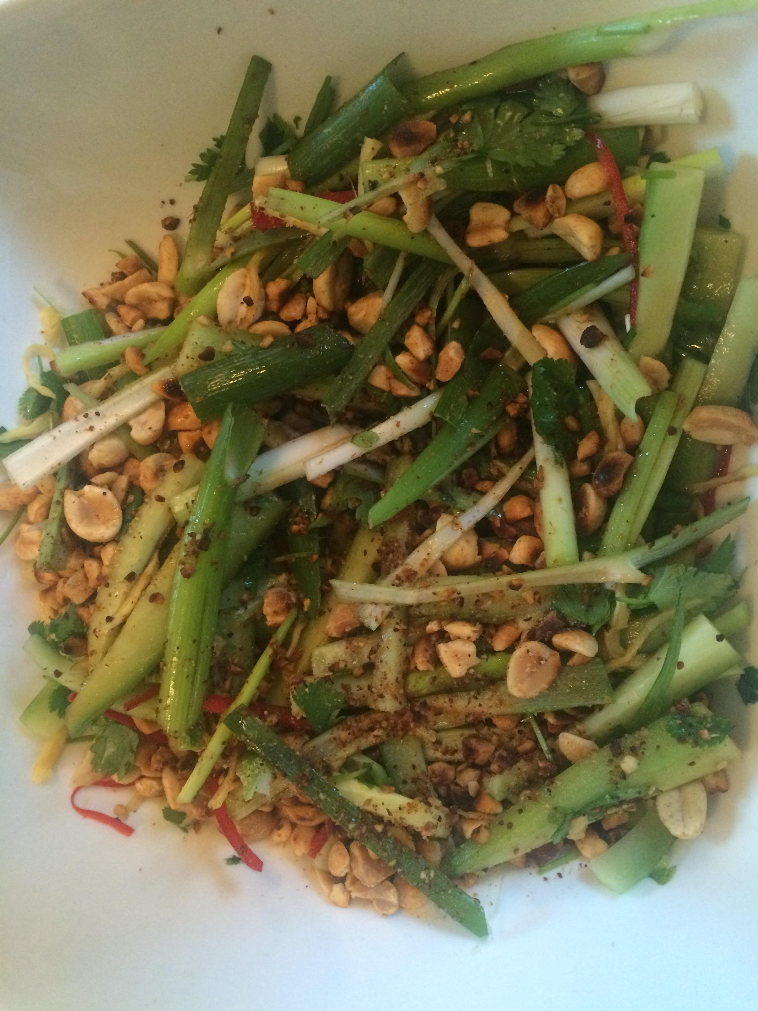 Salade met vers gemarineerde gember eetsnob for Vers de salade